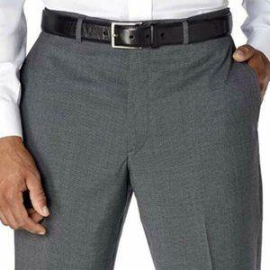 Kirkland Signature Mens Wool Flat Front Dres Pants